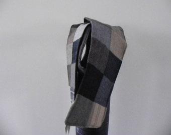 Scarf Patchwork Irish Tweed