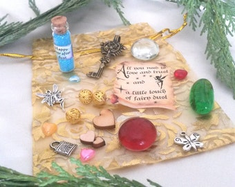 Magical Fairy Treasure with Fairy Dust & a Secret Message from the Fairies