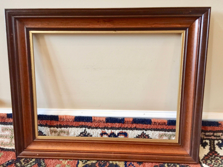 Wood Frame Wood Picture Frame Vintage Frame Art Frame for Art 16x20 ...