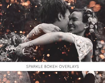 6 Sparkle overlays, wedding sparklers, fairy lights, fairy overlays, photo overlays, photography overlays, photoshop overlays, overlays