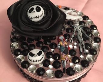 Nightmare before Christmas trinket / keepsake /jewelry box