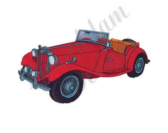 Morgan Classic Roadster - Machine Embroidery Design