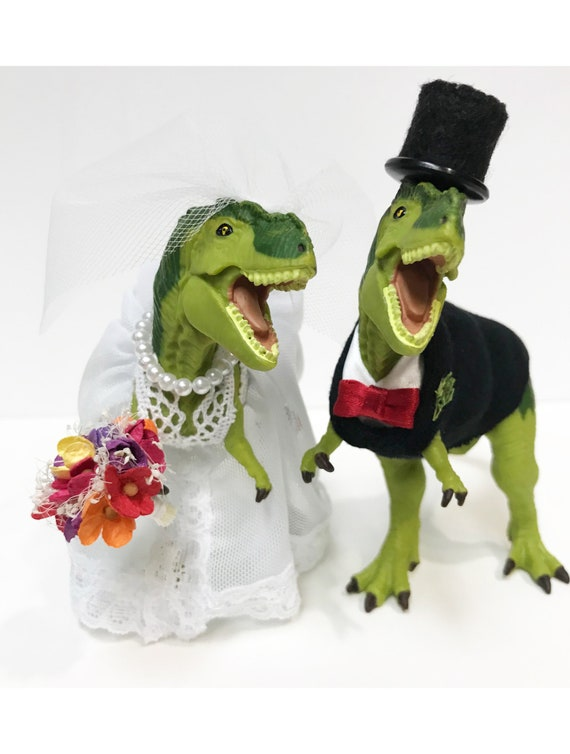 dinosaur wedding cake custom dinosaur wedding cake topper animal wedding cake 13530