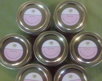 Raw Honey 8 ounce glass jar