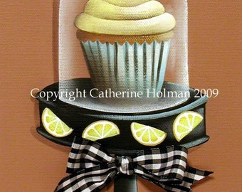 Cupcake Print Lemon