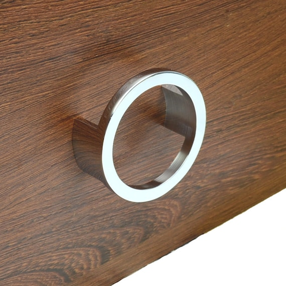 2.5u0027u0027 Modern Dresser Drawer Pulls Handles Knobs Ring Pulls Cabinet Door  Handle Pull Silver Chrome Kitchen Cupboard Furniture Hardware 64 Mm From ...