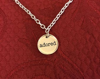 Adored necklace