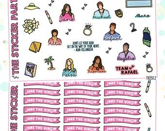JANE THE VIRGIN Show Planner Sticker Kit