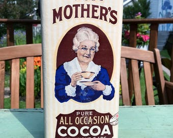 Vintage Our Mother's Cocoa Tin with Cocoa 2 lbs.  Excellent Condition