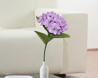 Hydrangea Flower, Unique Flower, Paper Flower, Hydrangeas, Home Decor, Wedding Decor, Table Decorations, Wedding Decoration, GIft For Her