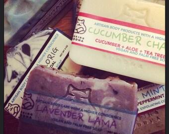 Pick 6 Clearance Soaps. Save. Organic. Natural. Vegan. Essential Oil. Made in Utah