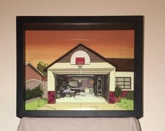 Rick & Morty Garage Display