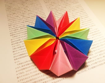 Origami Firework Desk Toy