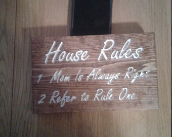 House rules mom is right
