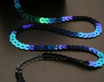 5 meters of cord with sequins. (ref:3120).