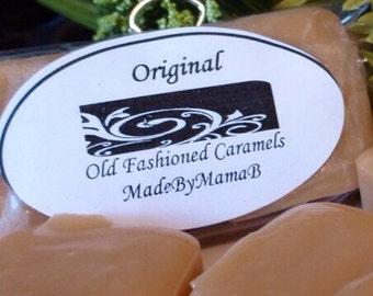 Original Soft Caramels ~ Box of 32 extra creamy, hand crafted caramels MadeByMamaB
