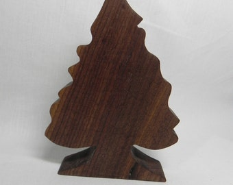Wooden Evergreen Tree