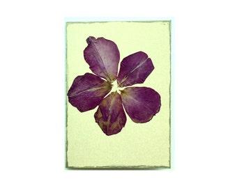 Rose petal Collage Card - Blank 4.5x6.25 (RP45-001)