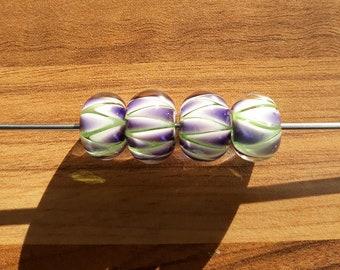 Vibrancy - handmade lampwork bead set
