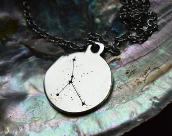 Biolojewerly - Cancer Constellation Stainless Steel Necklace