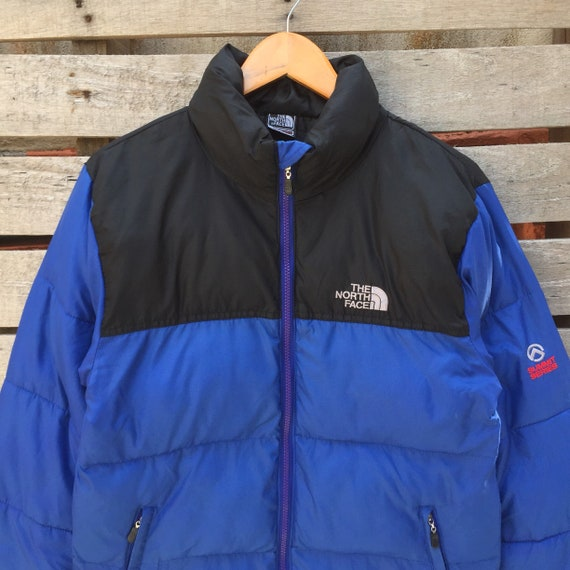 Vintage S Size Face Vintage 700 Black Jacket Small Puffer north Rare The Jacket face The Color series 1990s North Blue Summit Men's Sweater FqddB