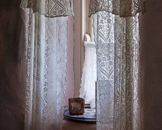 curtain linens buyer of seller elaborate clothing fine tambour large vintage lace circa antique curtains haute