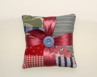 patchwork lavender sachet