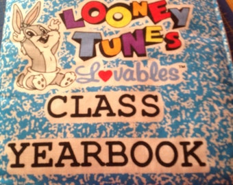 Loony toons babies fabric book