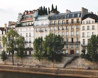 Paris Photography, Paris, Seine, Home Decor, French, Fine Art Prints, Wall Art, Parisian, Paris Prints, Paris Houses, Buildings