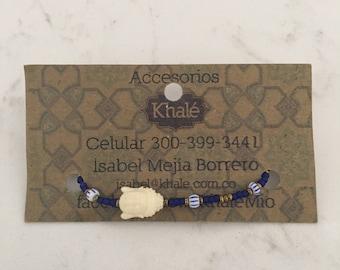 Buddha Beaded Bracelet Size XSMALL Handmade-Artisan
