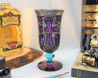 Celtic Cross Goblet