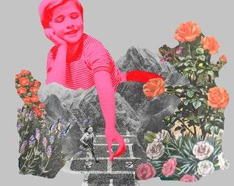 Hopscotch Collage