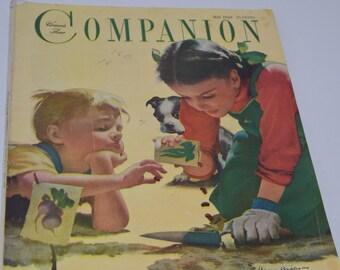 Vintage May 1949 Woman's Home Companion Magazine.