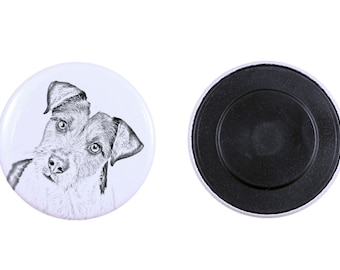 Magnet with a dog - Parson Russell terrier