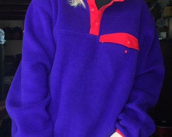 EMS fleece pullover sweatshirt