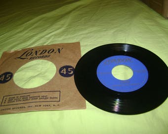 Mantovani and his Orchestra: Longing/Lazy Gondolier. 45rpm
