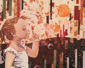 Blowing Bubbles - stampa