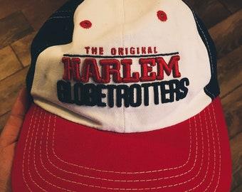 Vintage Harlem Globetrotters Hat