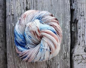 High Hopes Sock yarn - Handdyed Fingering wool/nylon 50g skein DYED TO ORDER - knitting laine teinte tricot