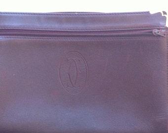 Vintage Cartier - must de Cartier Paris Clutch Wristlet Purse Handbag Accessory Bag ON SALE