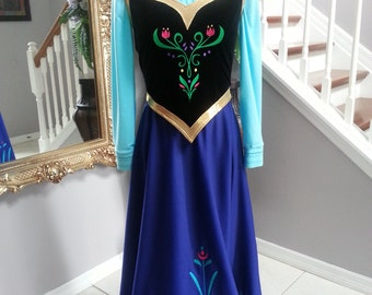 Anna Frozen Costume NO cape