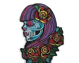 Patch l Violeta Candy Skull