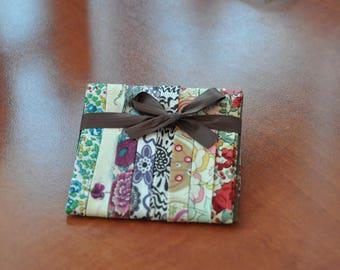 Set of 8 45-50 cms (LOT10A7) Liberty fabric