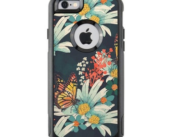 OtterBox Case Skin - Monarch Grove by Sara Berrenson - Sticker - iPhone 4/5/6/6+/7/7+, Galaxy S4/S5/S6/S7, Note 3/4/5