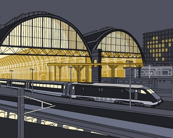 King's Cross Station, London - Signed Limited Edition Art Print