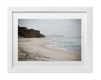Large Wall Art, Beach Photography, Montauk in the Fall, East Coast Landscape Art Print, Natural Home Decor, Ocean Print, Ocean Art