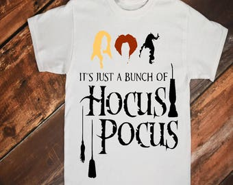 It's All Just a Bunch of Hocus Pocus - Halloween Shirt by Paisley Jades