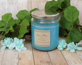 Soy Candles - Sea Mist - Natural Candles