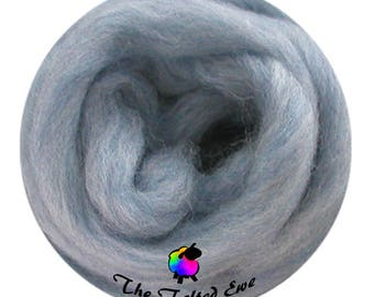 Needle Felting Wool Roving / ES8 Tranquil Breeze Carded Wool Sliver