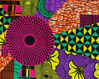 African fabric by the Yard/ Ankara fabric/ African Supplies/ African print fabric/ African material/ Wax print fabric/ Ankara by the yard